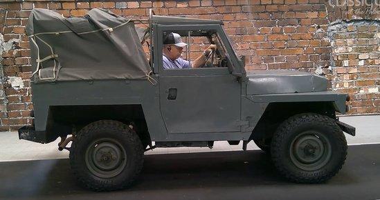 1980 Land Rover Defender Series II Lightweight