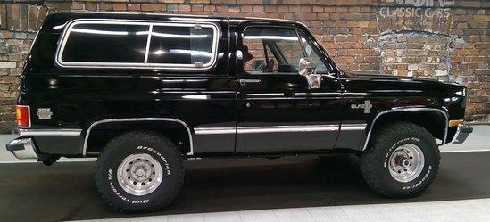 1984 Chevrolet Blazer K-5
