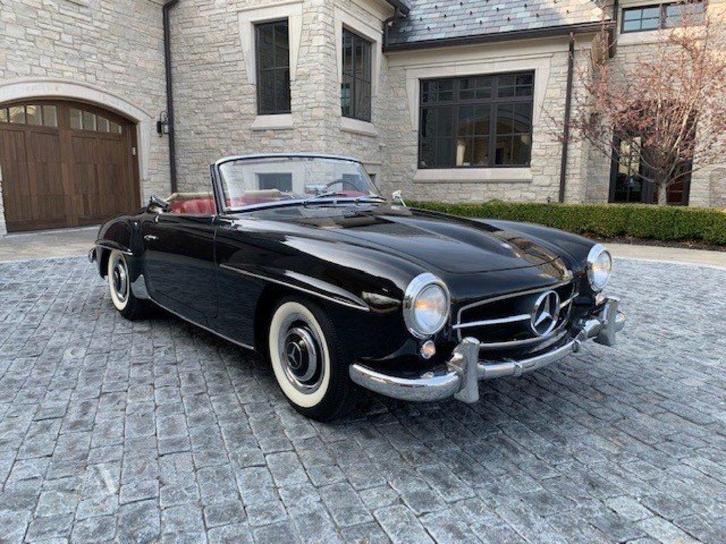 1957 Mercedes 190SL