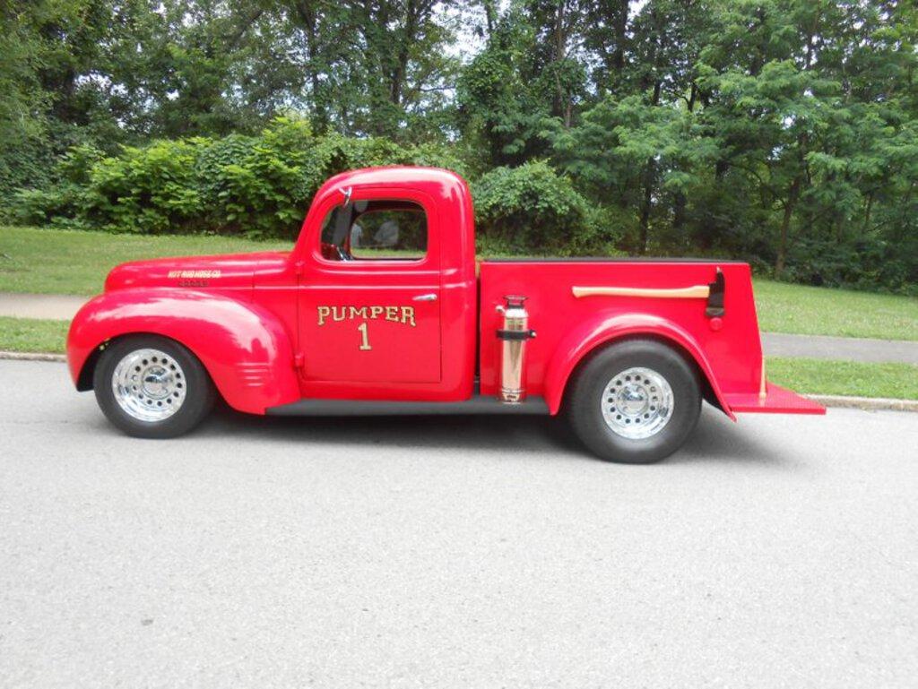 1940 Dodge Custom Fire Truck Collector Cars Collector Trucks Vans Online Auctions Proxibid
