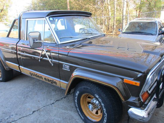 1977 Jeep J-10  Golden Eagle