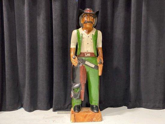 Lee Cowboy Statue