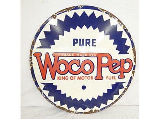 Pure Woco Pep Sign