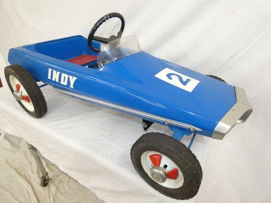 1963 Indy #2 Pedal Race Car