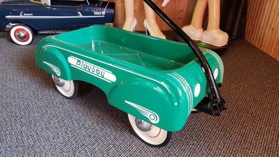 Green Playboy Wagon