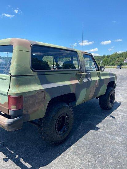 1986 Chevrolet D10 Military Blazer