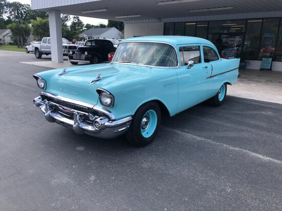 1957 Chevrolet 150 Moonshiner Car