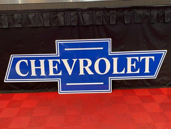 Chevrolet Emblem Sign
