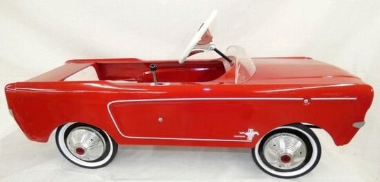 Original 1965 Mustang Pedal Car