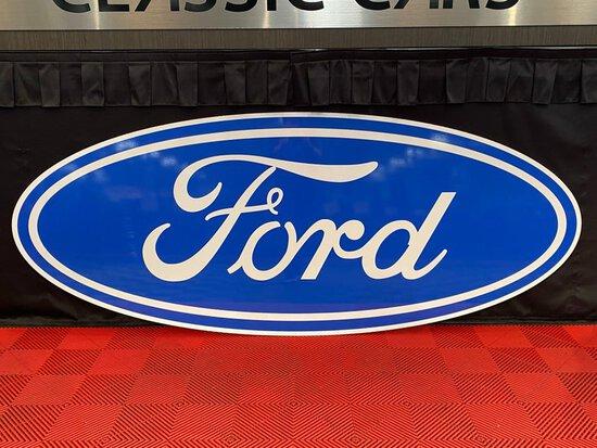 Ford Emblem Sign