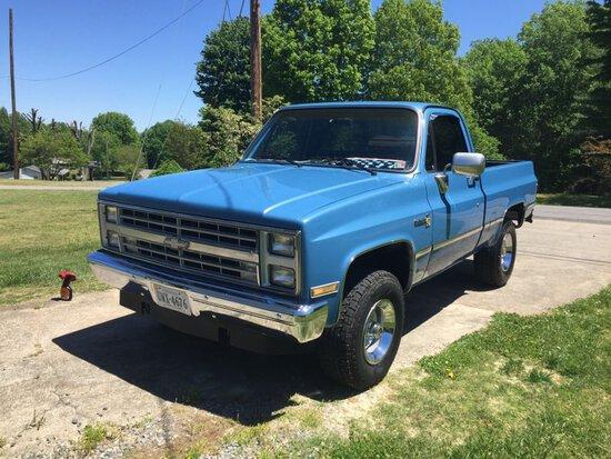 1985 Chevrolet Scottsdale