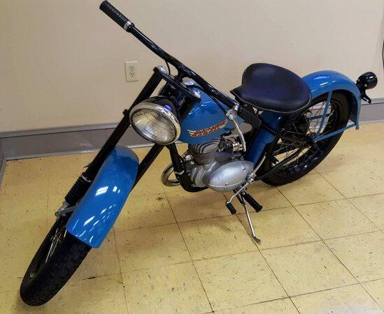 1956 Harley Davidson B125 Hummer
