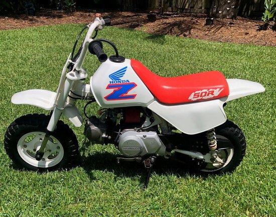 1991 Honda Z50R
