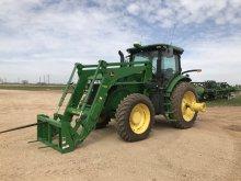 John Deere 7200r Tractor W/h480 Loader