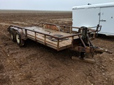 16FT BUMPER PULL UTILITY TRAILER
