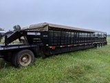 2010 NECKOVER 40FT STOCK TRAILER, VIN-1N9GL403XAT263619