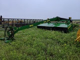 JOHN DEERE 956 MOCO W/ STEEL CRIMPERS