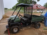 2007 KAWASAKI MULE 4X4, ONE ROW, 776 HRS