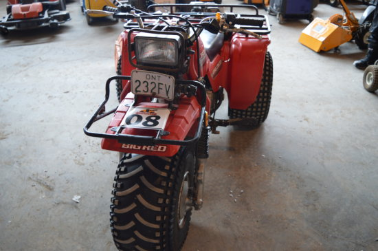 HONDA BIG RED 3 WHEELER