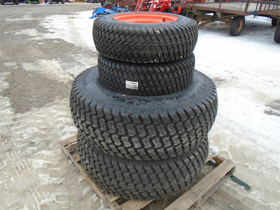 SET OF 4 TITAN TIRES & RIMS