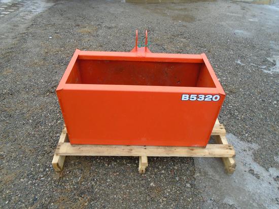 KUBOTA B5320 BALLAST BOX
