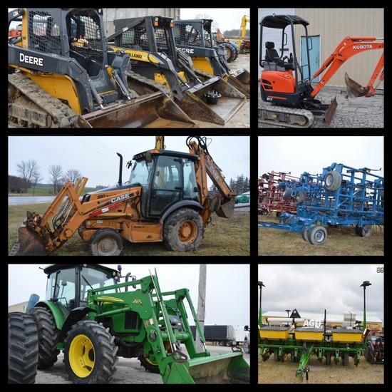 BRUSSELS LIVESTOCK FARM MACHINERY AUCTION SALE