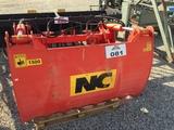 NC Silage bucket