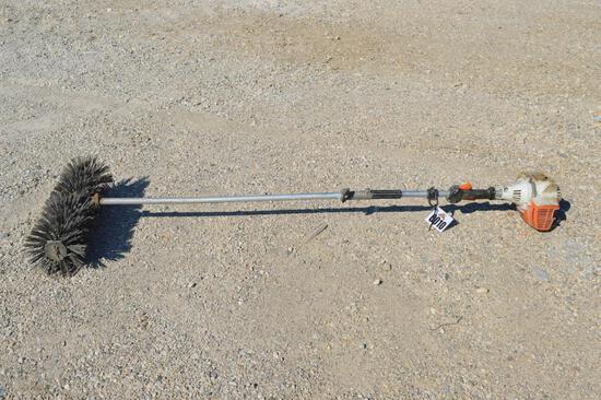 STIHL KM110R GAS POWERED BROOM