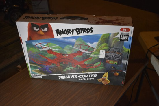 Angry Birds Squawk-Copter Camera Drone