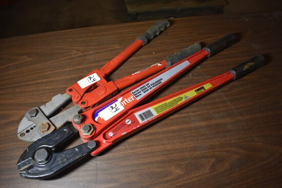 HK porter Bolt Cutters and Another set of bolt cutters