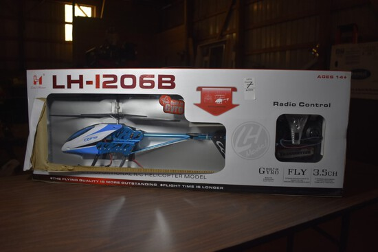 Metal Model LH-1206B Radio Control Helicopter
