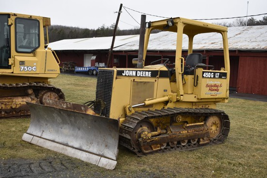 John Deere 450G LT Series 4 bulldozer