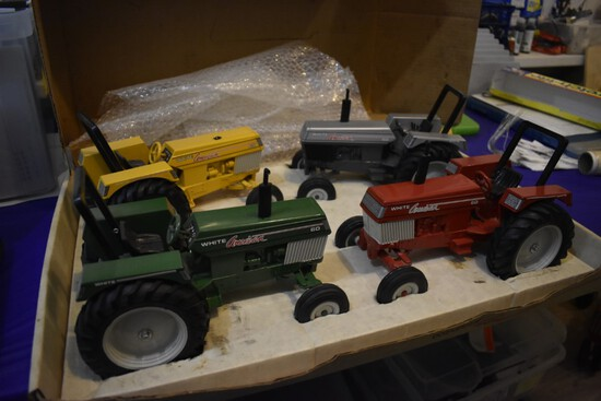 White American Collectors series Honoring our past Tractor set