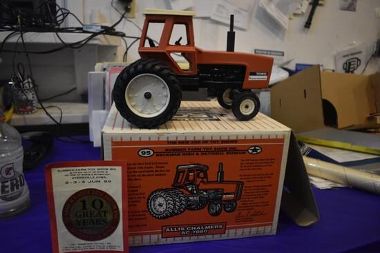 Allis Chalmers 7080 tri Wheel Tractor by ERTL, first ERTL produced with Tri-Wheels