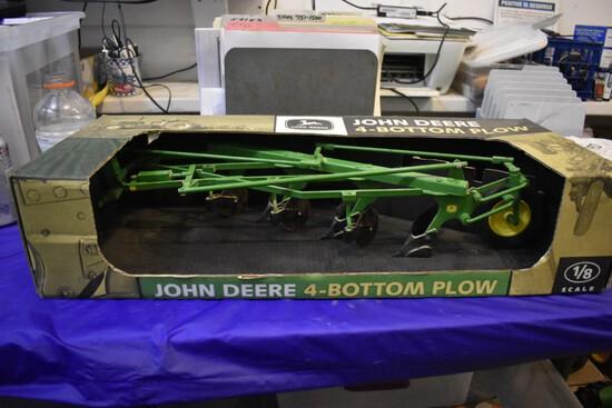 John Deere 4-bottom Plow by Scale Models