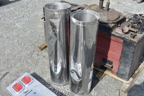 2 Sections of Insulated Stove Pipe