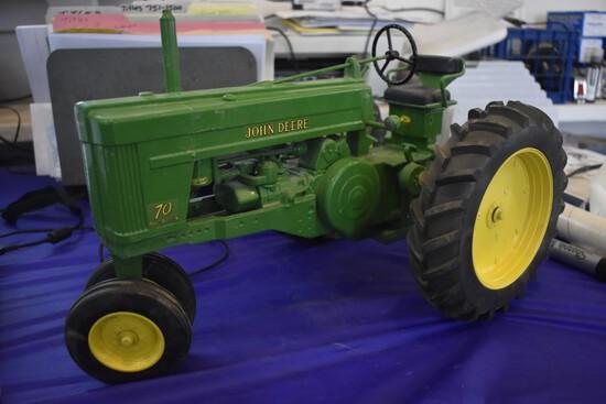John Deere 70 Power Steering Tractor By Scale Models
