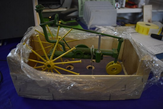 Homemade John Deere Tractor with Driver