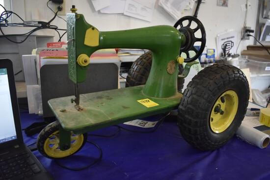 John Deere Singer Sewing Machine