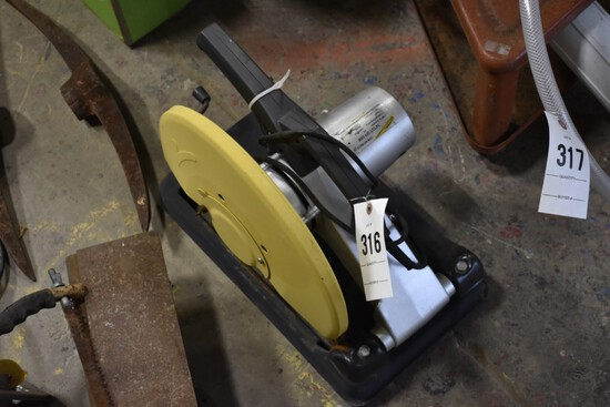 """Valley 14"""" cut-off saw"""