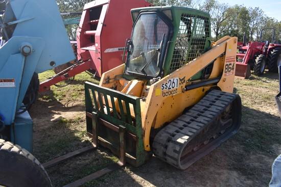 Bobcat 864 Skidsteer with Tracks