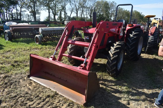Mahindra 6500 Tractor with Loader stock number 45462