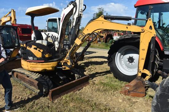 CAT 303CR Excavator stock number 45555