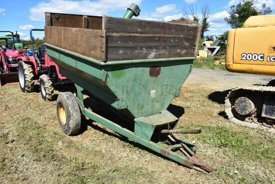 Little Green Self unloading Gravity Wagon