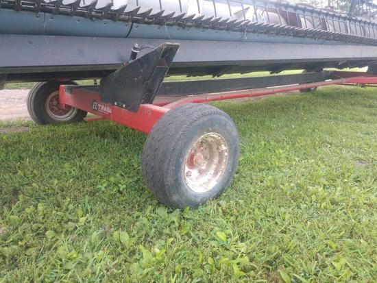 Ez trail model 672 header trailer