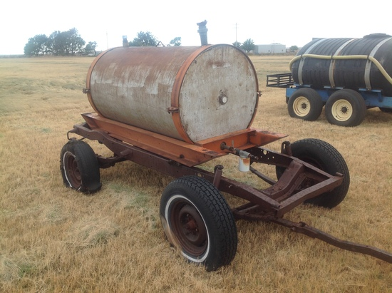 Fuel Trailer 4 Wheel Chassis