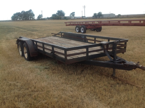 16Ft Tandem Axel Utility Trailer