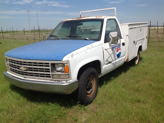 1991 Chevrolet 2500 Utility Bed Pickup