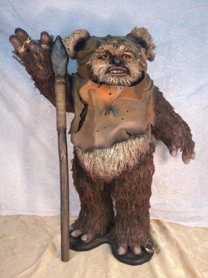 Star Wars TV series on camera prop – Ewok