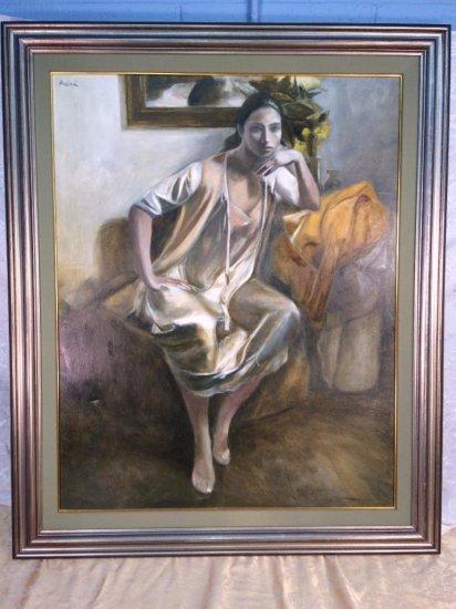 Jordi Rollan Lahoz original oil painting on canvas